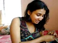Indian Girl N Brat