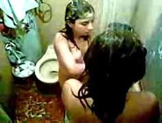 Indian hostel girls show off..