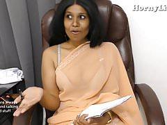 Indian Teacher seduces young..