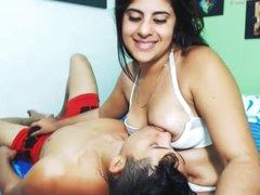 Breastfeeding of Old crumpet..