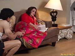 Pregnant Desi Mother fucked..
