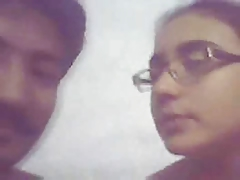 indian academy girl enjoying..