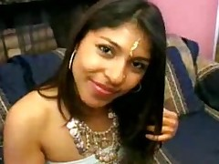 Indian chick takes on two..