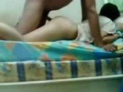 Indian student fucked by her..